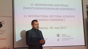 VI. Doktorska znanstveno-raziskovalna mednarodna konferenca