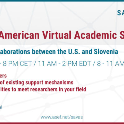 Slovenian American Virtual Academic Symposium